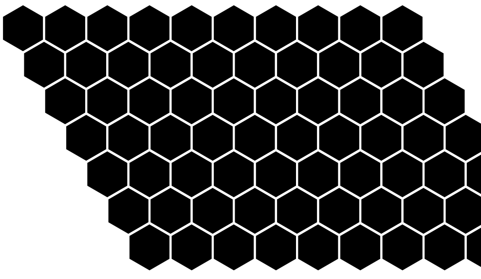Simple SVG hex grid